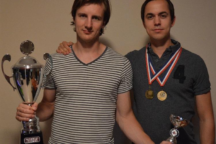 Rogier en Theun Stef Stuntpiloot kampioenen