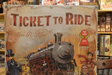 Ticket to ride Amerika doos