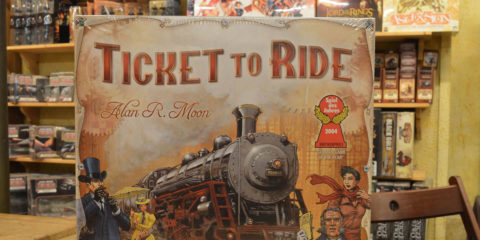 Ticket to ride Amerika doos