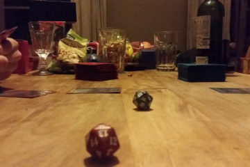 tafel flessen magic dobbelsteen
